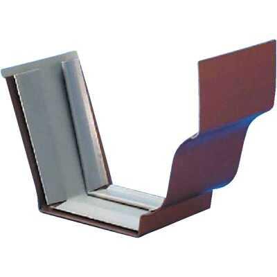 Amerimax 5 In. Galvanized Brown Slip-Joint Gutter Connector