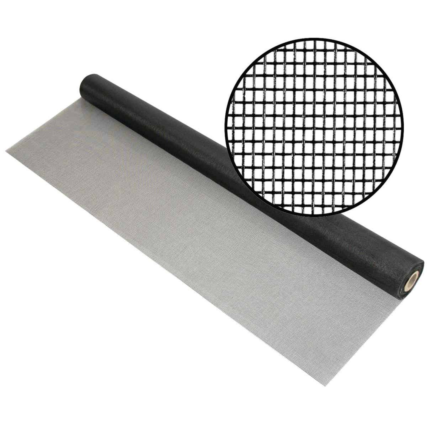 Phifer 96 In. x 100 Ft. Charcoal Fiberglass Pool Screen Image 1