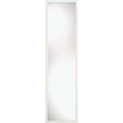 Home Decor Innovations Suave 13 In. x 49 In. White Plastic Door Mirror