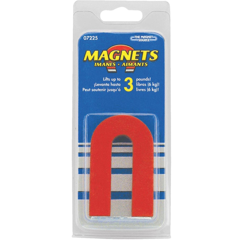 Master Magnetics 3 Lb. Horseshoe Alnico Power Magnet Image 2