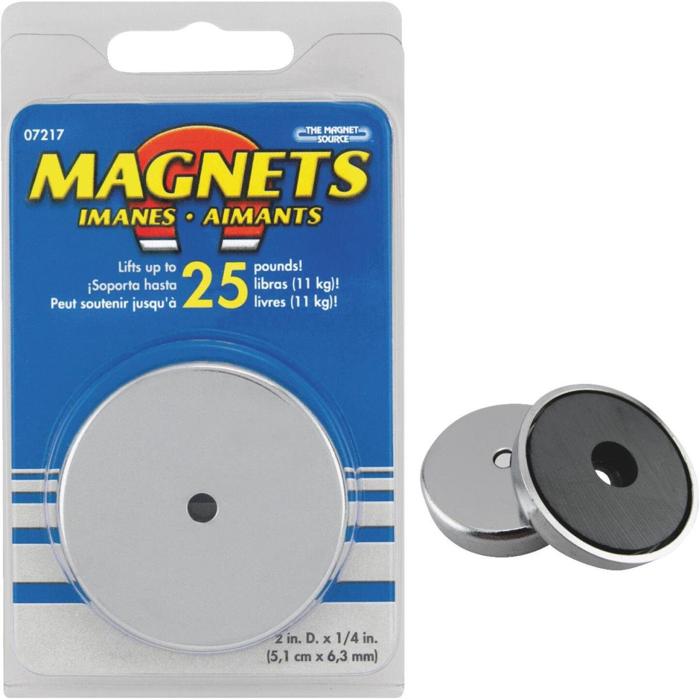 Master Magnetics 2 in. 25 Lb. Magnetic Base Image 1