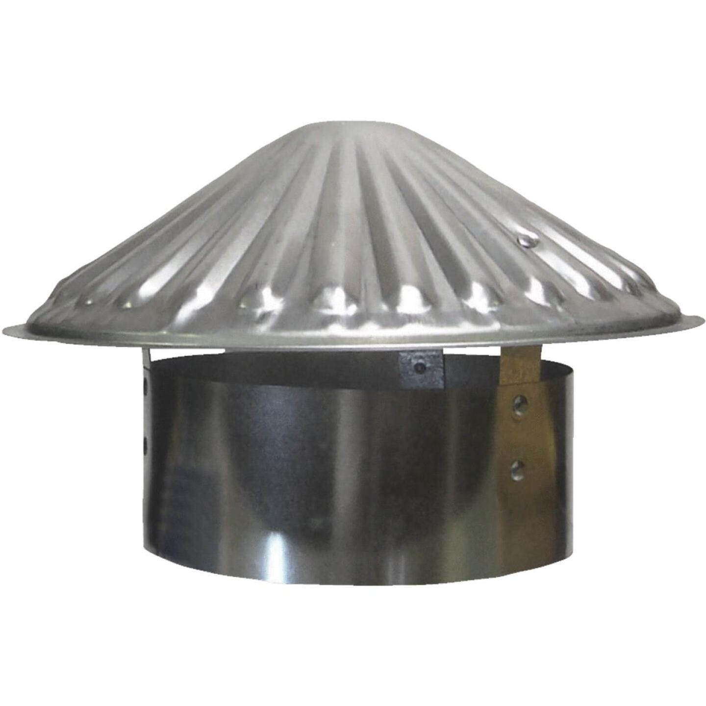 S & K Galvanized Steel 7 In. x 11 In. Vent Pipe Cap Image 1