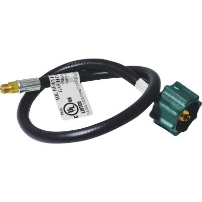 MR. HEATER 12 In. x 1/4 In. Inverted Male Flare x 3/8 In. Acme Nut LP Hose Assembly