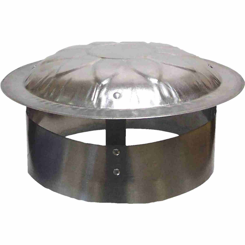 S & K Galvanized Steel 9 In. x 12 In. Vent Pipe Cap Image 1