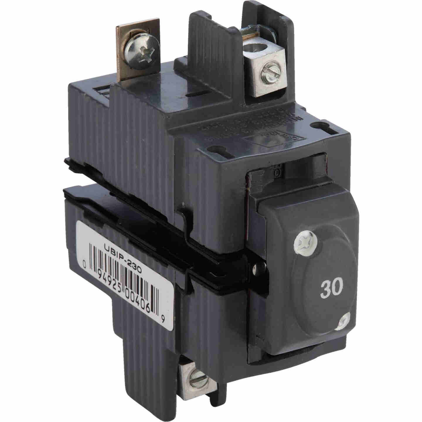 Connecticut Electric 30A Double-Pole Standard Trip Packaged Replacement Circuit Breaker For Pushmatic Image 1