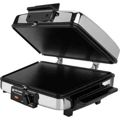 Black & Decker 3-In-1 Electric Grill - Griddle - Waffle Maker