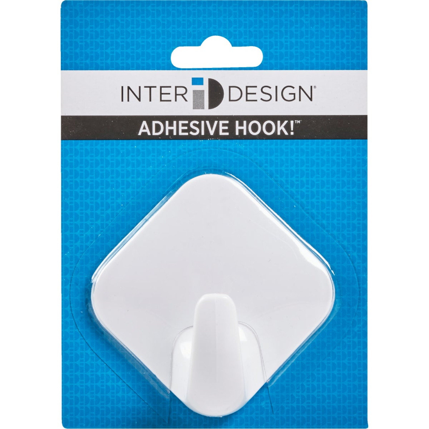InterDesign Diamond 3 In. Self Adhesive Hook Image 2
