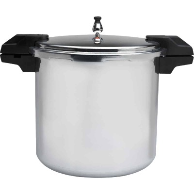 IMUSA 22 Qt. Aluminum Pressure Cooker and Canner