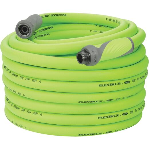 Flexzilla 5/8 In. Dia. x 100 Ft. L. Drinking Water Safe Garden Hose with SwivelGrip Connections