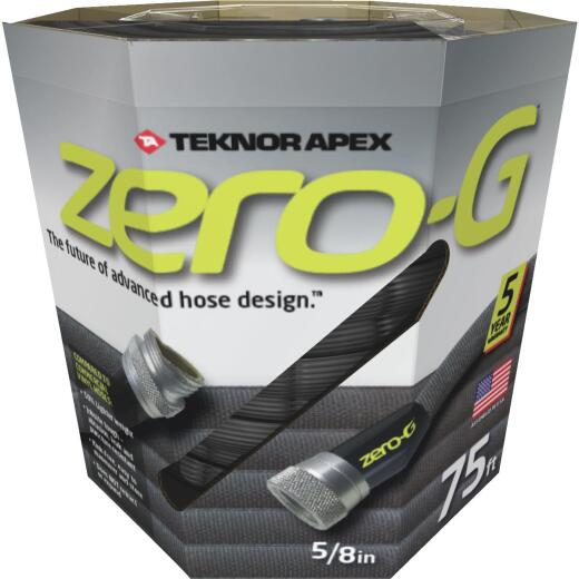 Apex Zero-G 5/8 In. Dia. x 75 Ft. L. Drinking Water Safe Garden Hose