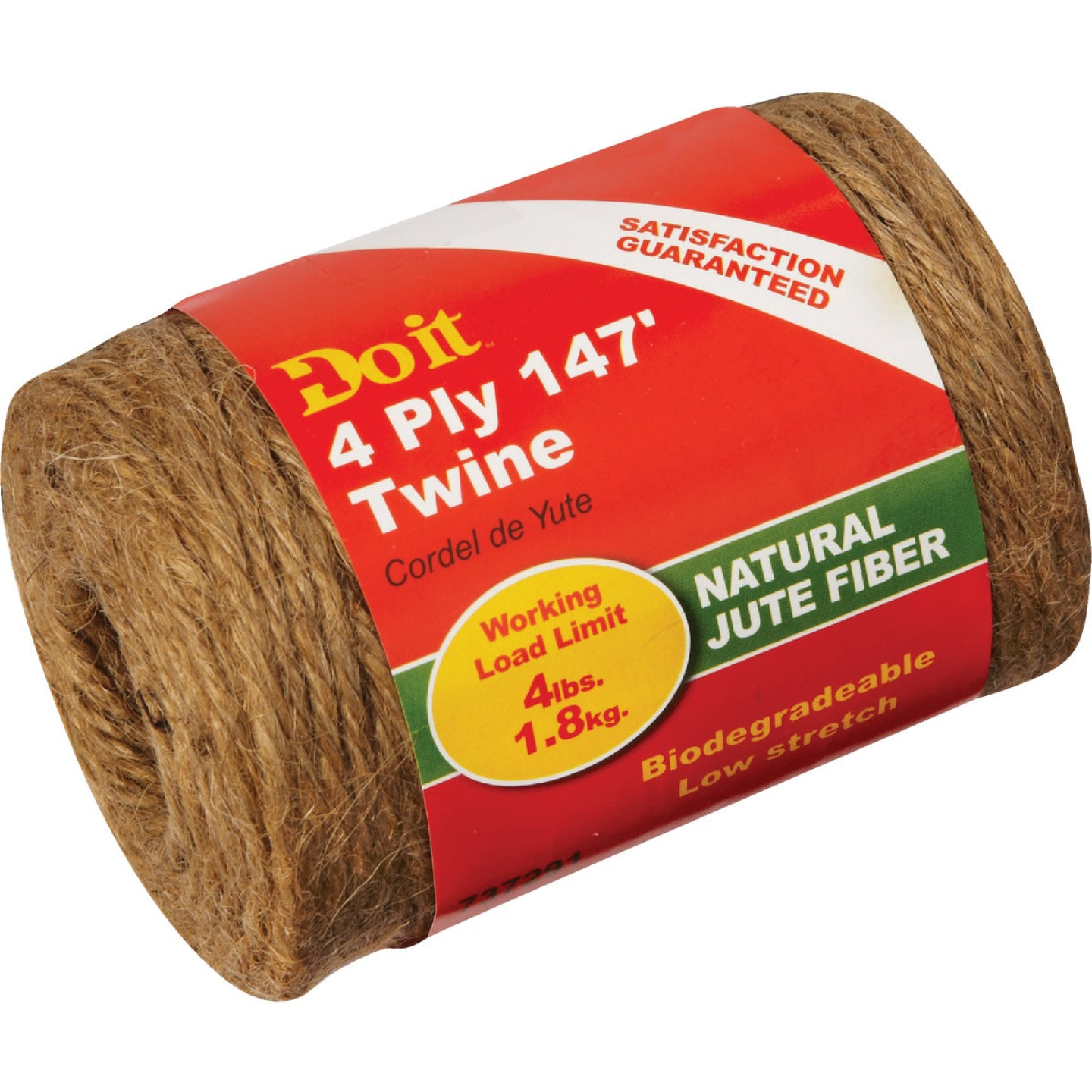 Do it 4-Ply x 147 Ft. Brown Jute Biodegradable Twine Image 1