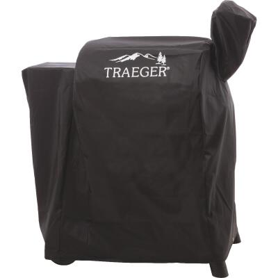 Traeger 22 Series 44 In. Black Polyester Full-Length Grill Cover