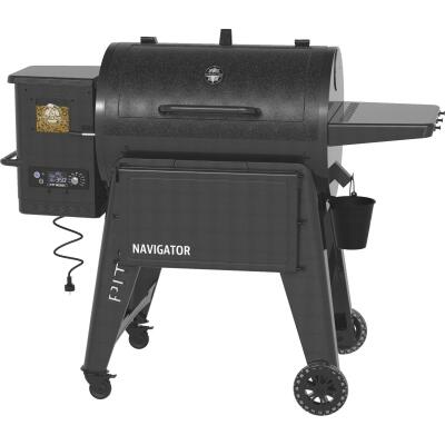 Pit Boss Navigator 850 Black 40,000-BTU 879 Sq. In. Wood Pellet Grill